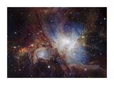 Deep infrared view of the Orion Nebula from HAWK-I Poster von  ESO