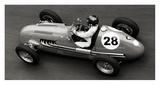 Historical race car at Grand Prix de Monaco Pôsters por Peter Seyfferth