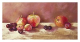 Cherries and Apples (detail) Kunstdrucke von Nel Whatmore