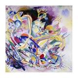 Improvisation Painting Kunst af Wassily Kandinsky
