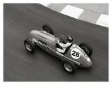 Historical race car at Grand Prix de Monaco Affiches par Peter Seyfferth