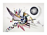 Watercolor Painting of Composition Pósters por Wassily Kandinsky