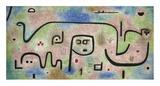 Insula Dulcamara Prints by Paul Klee