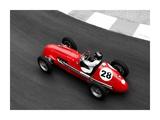 Historical race car at Grand Prix de Monaco Plakater av Peter Seyfferth