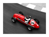Historical race car at Grand Prix de Monaco Pôsters por Peter Seyfferth