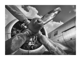Vintage aircraft propeller Print