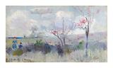 Herrick's Blossoms Reproduction giclée Premium par Charles Conder