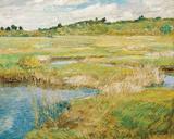 The Concord Meadow, c.1890 ジクレープリント : フレデリック・チャイルド・ハッサム