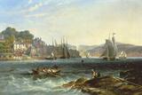 Rough Seas Giclée-tryk af James Wilson Carmichael