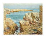 Coast Scene, Isles of Shoals, 1901 Reproduction giclée Premium par Frederick Childe Hassam