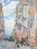 The Fourth of July, 1916 ジクレープリント : フレデリック・チャイルド・ハッサム