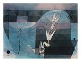 Wallflower (detail) Prints by Paul Klee