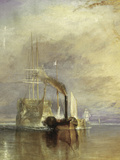 The Fighting Temeraire - Detail Giclée-tryk af J. M. W. Turner