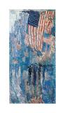 The Avenue in the Rain, 1917 プレミアムジクレープリント : フレデリック・チャイルド・ハッサム