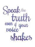 Inspire - Truth Póster por Sasha Blake