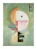 Upward Posters par Wassily Kandinsky