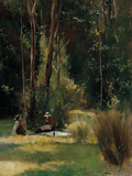 A Sunday Afternoon Giclée-Druck von Tom Roberts