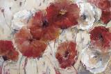Sea of Poppies Giclée-tryk af Bridges,