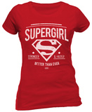 Women's: Supergirl- Better Than Ever XOXO T-skjorte