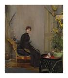 Mrs L. A. Abrahams Giclée-Premiumdruck von Tom Roberts