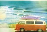 California Cool - Drive Giclee-trykk av Chuck Brody