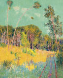 A Clearing in the Forest Giclee Print by John Peter Russell