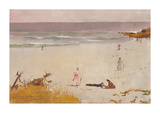 Bronte Beach Reproduction giclée Premium par Charles Conder