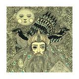 Odin, 2014 Giclee Print by Dariya Hlazatova