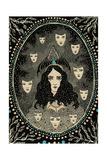The Many-Faced Susan, 2014 Giclee Print by Dariya Hlazatova