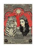 Tiger's Bride, 2013 Giclee Print by Dariya Hlazatova