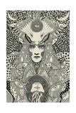 Sea Princess, 2013 Giclee Print by Dariya Hlazatova
