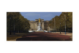 Buckingham Palace, the Mall, August Giclee Print by Tom Hughes