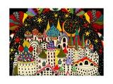 Imaginary City, 2014 Giclee Print by Dariya Hlazatova