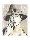 Fashion Week Paris Halftone IV Print by Sue Schlabach