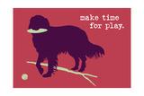 Time For Play - Red Version Kunst av  Dog is Good