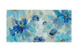 Blue Flowers Whisper I Posters by Silvia Vassileva