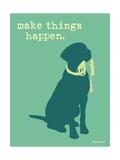 Things Happen - Teal Version Affiches par  Dog is Good