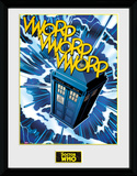 Doctor Who- Tardis Comic Collector-print