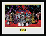 Doctor Who- Villains Landscape Collector-print