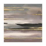 Gilded Morning Fog II Gold ポスター : クリス・パシュケ