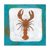 Ahoy II Red Blue Poster von Melissa Averinos