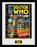 Doctor Who- Daleks Tardis Comic Collector-print
