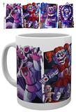 Five Nights at Freddy's - Sister Location Characters Mug Tazza