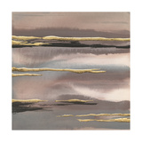 Gilded Morning Fog I Gold Arte por Chris Paschke