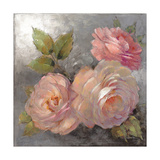 Roses on Gray II Crop Affiches par Peter McGowan