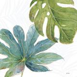 Tropical Blush VII Premium Giclée-tryk af Lisa Audit