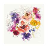 Rainbow Ruffles II Art by Shirley Novak