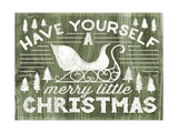 Rustic Holiday II Posters by Laura Marshall