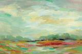 Sunrise Field Art by Silvia Vassileva