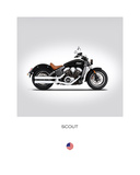 Indian Scout 2016 Giclee Print by Mark Rogan